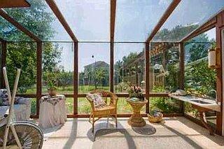 Солнечная комната в доме