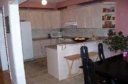 Кухня в таунхаузе