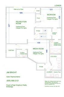 План комнат в бейсменте