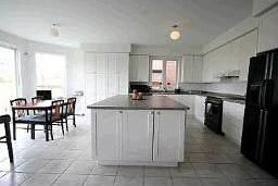 Кухня в просторном и светлом канадском доме на продажу