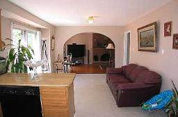 Living room in the house for sale