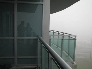 Балкон в канадской квартире